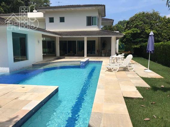 Casa Com 4 Dormitórios À Venda, 600 M² Por R$ 2.600.000,00 - Piratininga - Niterói/rj - Ca0530