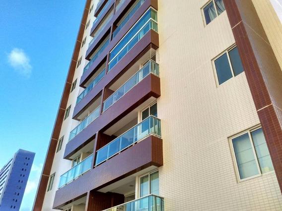 Apartamento Em Jardim Oceania, João Pessoa/pb De 75m² 3 Quartos À Venda Por R$ 400.000,00 - Ap300609