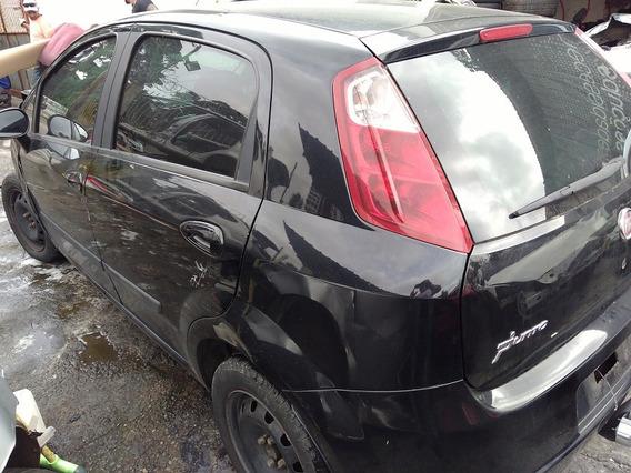 Sucata Fiat Punto 2008 1.4 Para Retirada De Peças