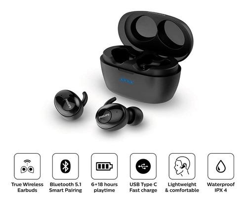 Audifonos Bluetooth Tws Philips Tat3215 C/ 24 Hrs De Batería