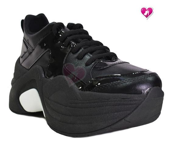 Zapatillas Tachas Sneakers Plataforma M Cruz De Shoes Bayres