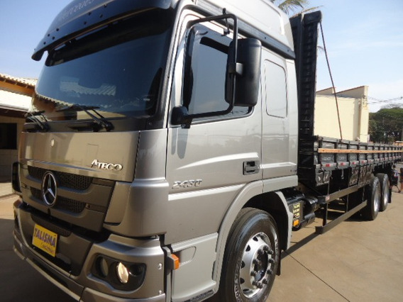 M.benz Atego 2430-2015-truck-carroceria-talismã Caminhões