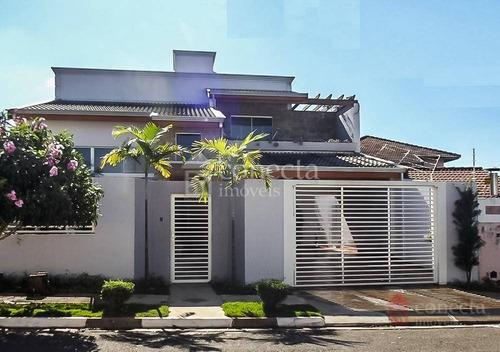 Casa Com 3 Dormitórios À Venda, 350 M² Por R$ 930.000,00 - Jardim Europa - Paulínia/sp - Ca0739