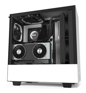 Gabinete Nzxt H510i Compact Blanco-mate Media Torre Mini