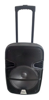 Parlante Portátil 12 PuLG. 1500w + Micrófono + Control