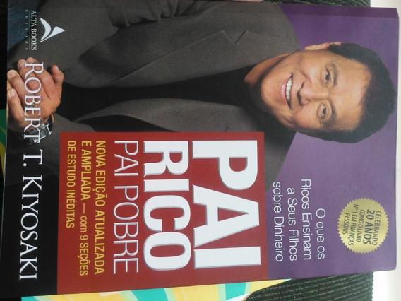 Livro Pai Rico Pai Pobre +3 Livros De Finanças