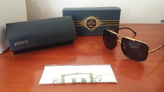 Óculos De Sol Dita Mach One Black Novo Pronta Entrega