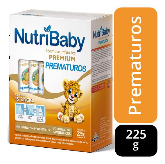 Nutribaby Prematuros Leche En Polvo Estuche X 15 Sticks