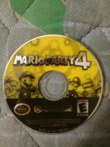 Jogo Original Mario Party 4 Perfeito S/ Capa Gamecube