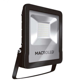 Reflector Led Macroled 50w 220v Calida Alta Potencia Ext