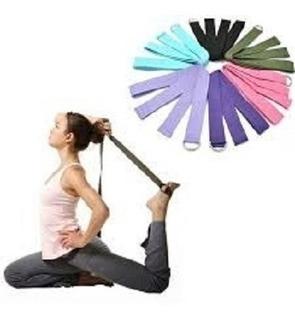 Fita De Yoga Pilates E Alongamento 1,8m