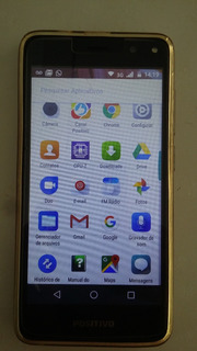 Smartphone Positivo Twist S511 2018 Cinza 16gb