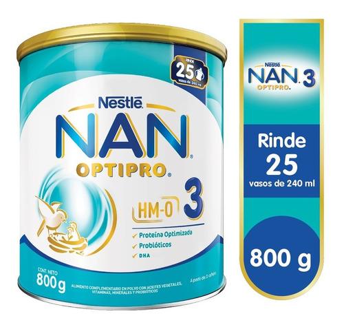 Nan® 3 Optipro® 800g - Alimento Complementario En Polvo