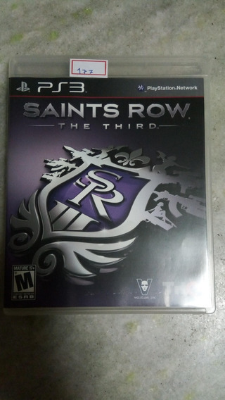 Jogo Sony Ps3 Saints Row The Third Original Lote177