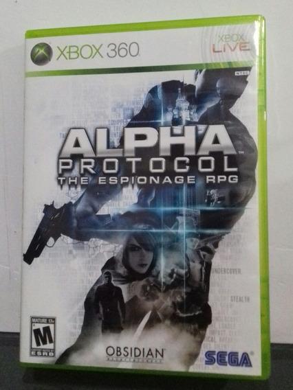 Alpha Protocol Sega Jogo De Xbox 360 Original