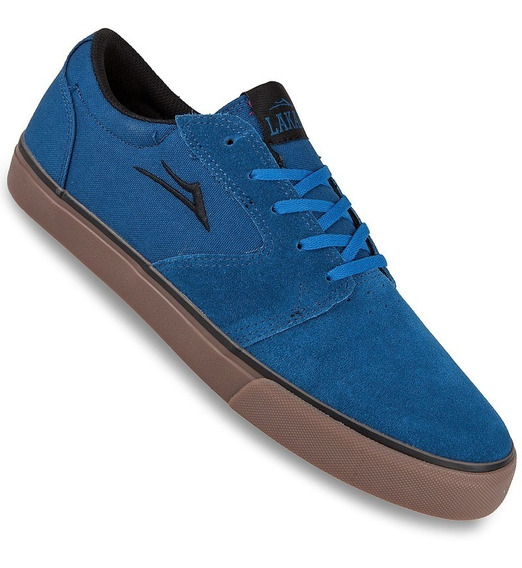 Zapatilla Lakai Fura Blue/gum Suede (hablar Al Vendedor)