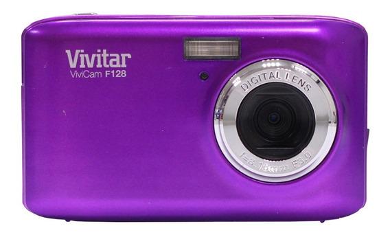 Camara Digital Vivitar F128 Zoom X4 14.1mp Pantalla De 2,7