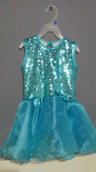Vestido Tutú Frozen Artesanal!