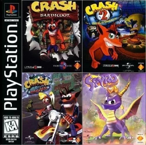 Crash Bandicoot (3 Jogos) Ps2 Dvd  Promoção
