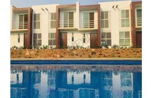 Casa A La Venta En Jiutepec Vive En Un Condominio Confortable Y Seguro