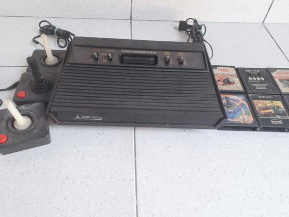 Console Atari Polivox 2600 Com Defeito Vendido No Estado
