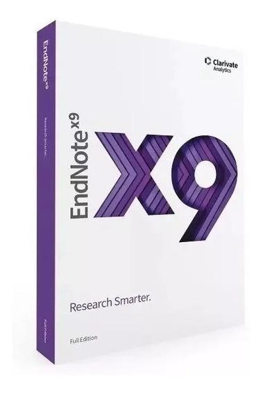 Endnote X9 - Gerenciar Referências Bibliográficas