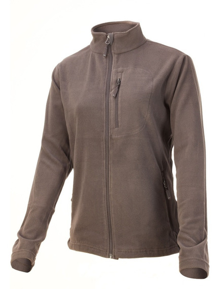 Campera Polar Mujer Nexxt Performance June Cierre Completo