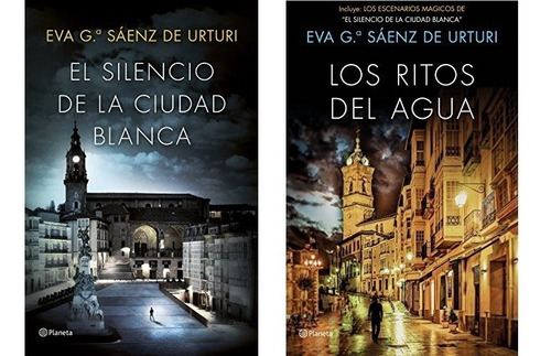 Imagen 1 de 3 de Trilogía La Ciudad Blanca (2 Libros) - Eva Saenz De Urturi