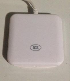 02 Peças = Leitor Cartão Smart Card Usb Ccid Acs Acr38
