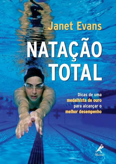 Livro - Natação Total - Janet Evans