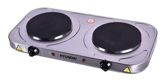 Anafe eléctrico Hyundai HYSD-HP2000 gris 220V