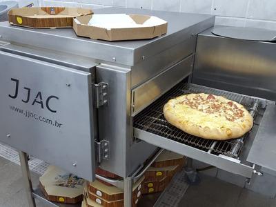 Passo Ponto Pizzaria Funcionando Forno Processador Masseira