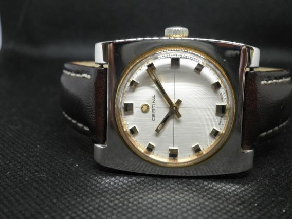Reloj Certina Cuerda Manual Vintage Bien Cuidado