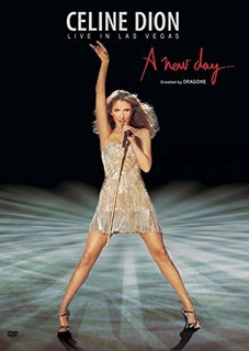Celine Dion A New Day Live In Las Vegas Dvd Nuevo Original