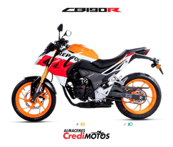 Honda Cb 190 R Repsol + Casco + Soat Gratis Sólo Marzo!!