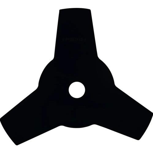 Lamina 3 Pontas Para Roçadeira - 25,4cm - Furo De 1 Polegada