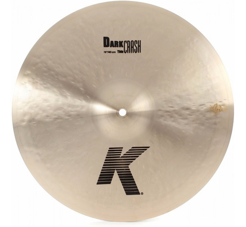 Platillo Zildjian K0902 K Series - K Dark Thin Crash 16
