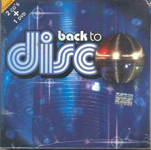 Varios Interpretes - Back To Disco (2cd + Dvd)