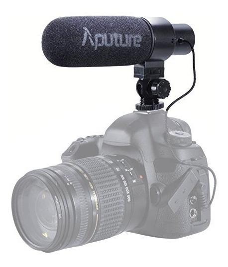 Microfone Aputure Direcional V-mic D1 Para Canon Nikon Sony