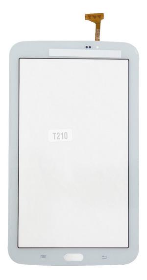 Tela Touch Samsung Galaxy Tablet T210 Branca Tab 3 Lite