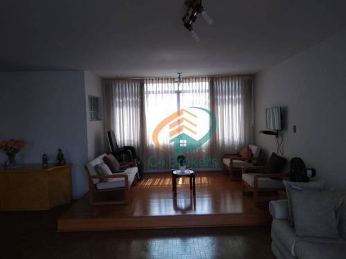 Imagem 1 de 21 de Apartamento Com 3 Dormitórios À Venda, 202 M² Por R$ 730.000,00 - Mooca - São Paulo/sp - Ap3296
