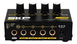 Amplificador De Auriculares Skp 1 Ent 4 Salidas Alta Calidad