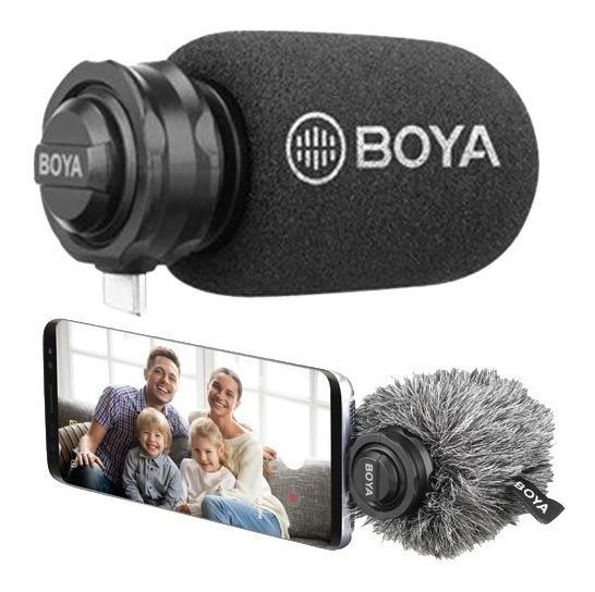 Microfone Boya By-dm100 - Microfone Usb Tipo C Direcional