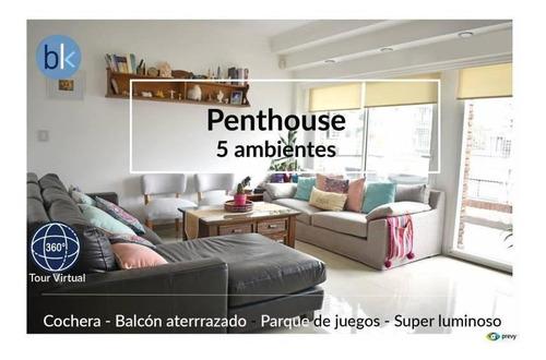 Esplendido Penthouse - Balcón Terraza - Cochera Cubierta - A Pasos De Av. De Los Incas.