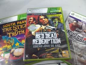 Red Dead Redemption + Virtua Tenis 4 + Sout Park Xbox 360