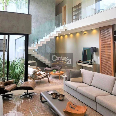 Casa De Condomínio Para Venda Em Residencial Duas Marias - Indaiatuba - Sp - Ca0436