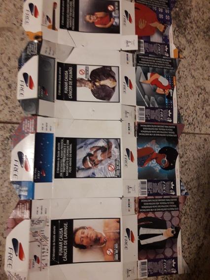Coleção Com 7 Embalagens Free Colecionáveis
