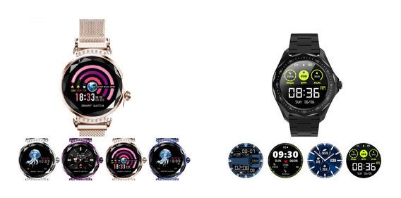 Smartwatch Relógio Inteligente Para Ela E Para Ele