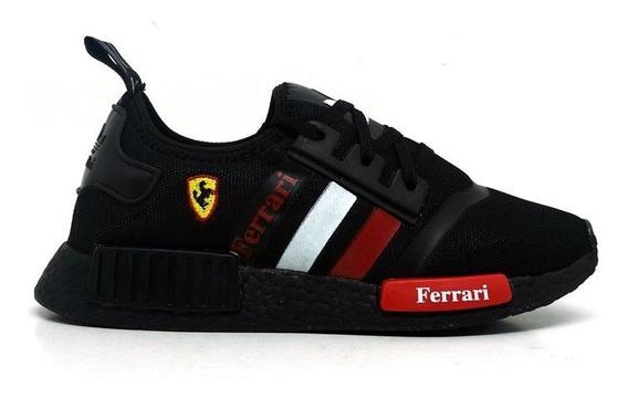 Tênis Masculino adidas Nmd Ferrari Promoção C/ Frete Grátis