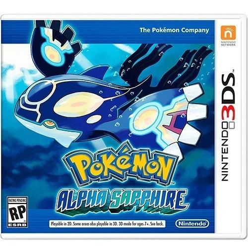 Pokémon Alpha Sapphire - Mídia Física 3ds + Brinde